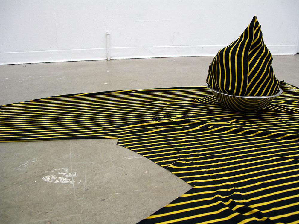 Floor piece: stripey