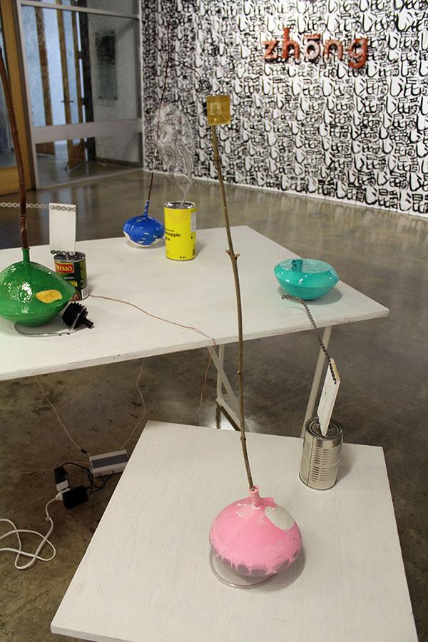 Balloon Chorus installation