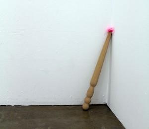 Untitled (Corner Piece) - gallery installation